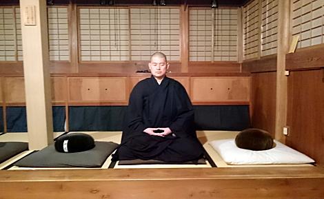 禅寺で修行